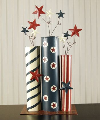 Quick & easy patriotic crafts & diy projects -  for 4th of July, Memorial day weekend, the olympics, veteran's day, etc