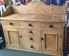 Stunning Antique Pine Irish Dresser.