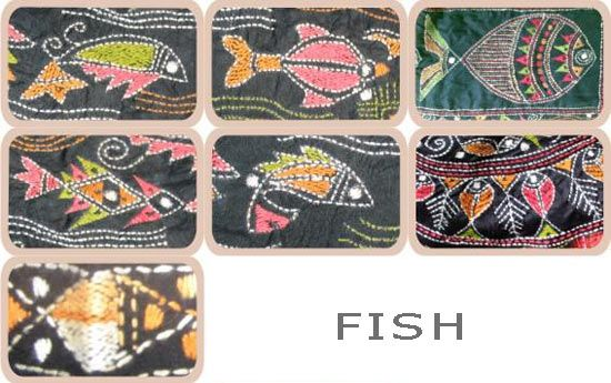 Semiotic study of the motifs in nakshi kantha - the tree of life, the fish and the lotus