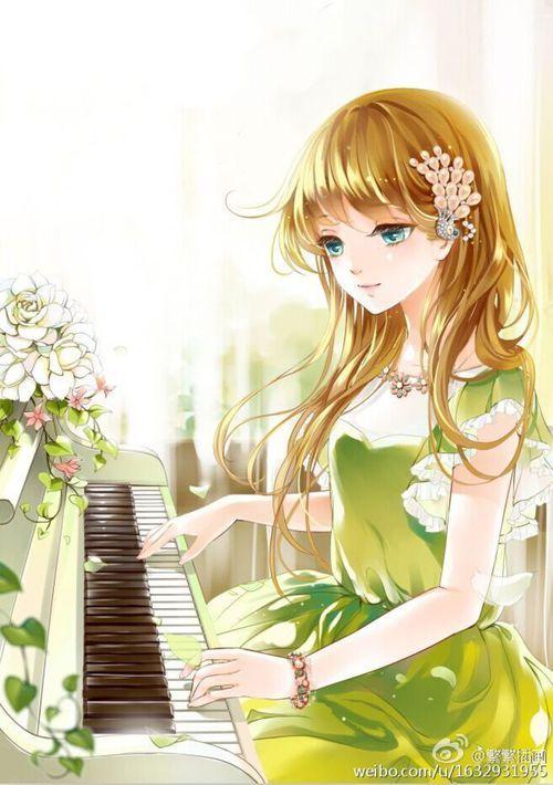 Kết quả hình ảnh cho chơi piano(anime)