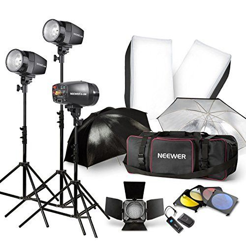 540W Studio Kit for Professional u0026 Home Studio Photography This professional kit is perfect for advertising  sc 1 st  Pinterest : home studio lighting kit - azcodes.com