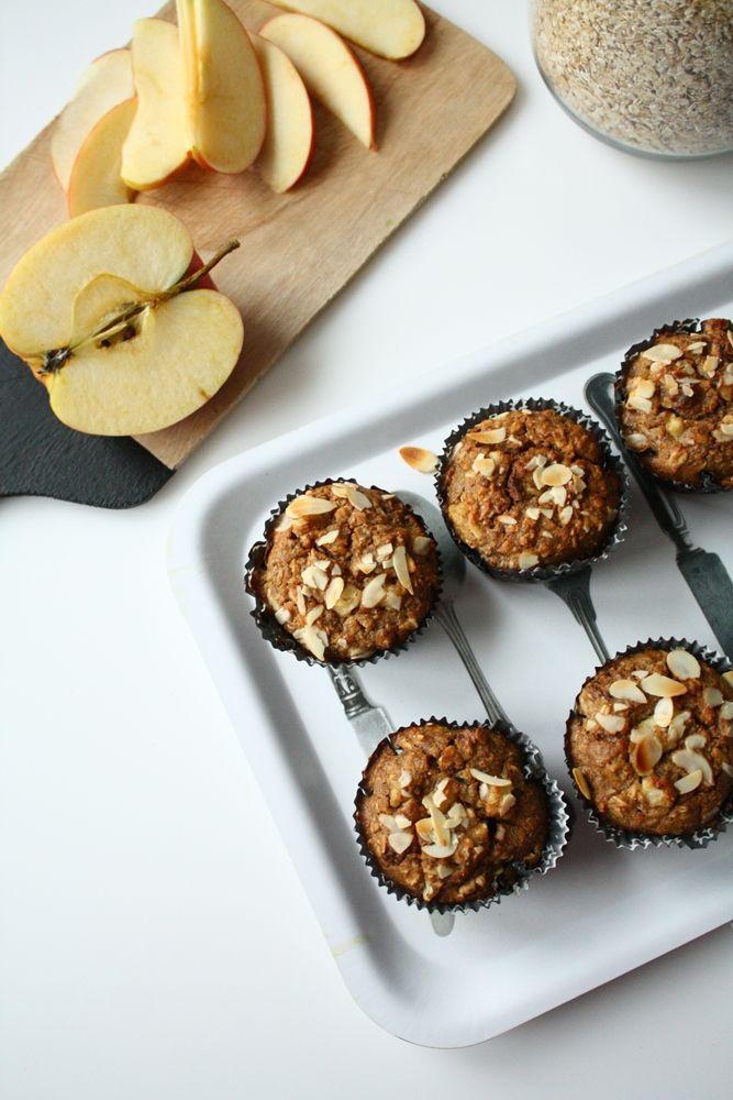Muffinki śniadaniowe owsiano-jabłkowe