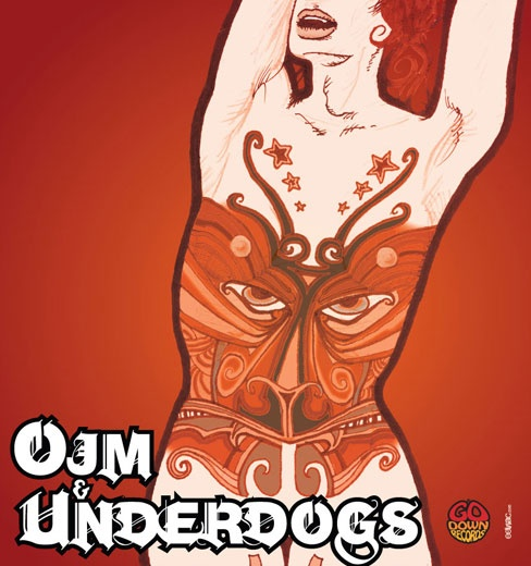 eeviac artworks for [band] OJM and [band] The Underdogs