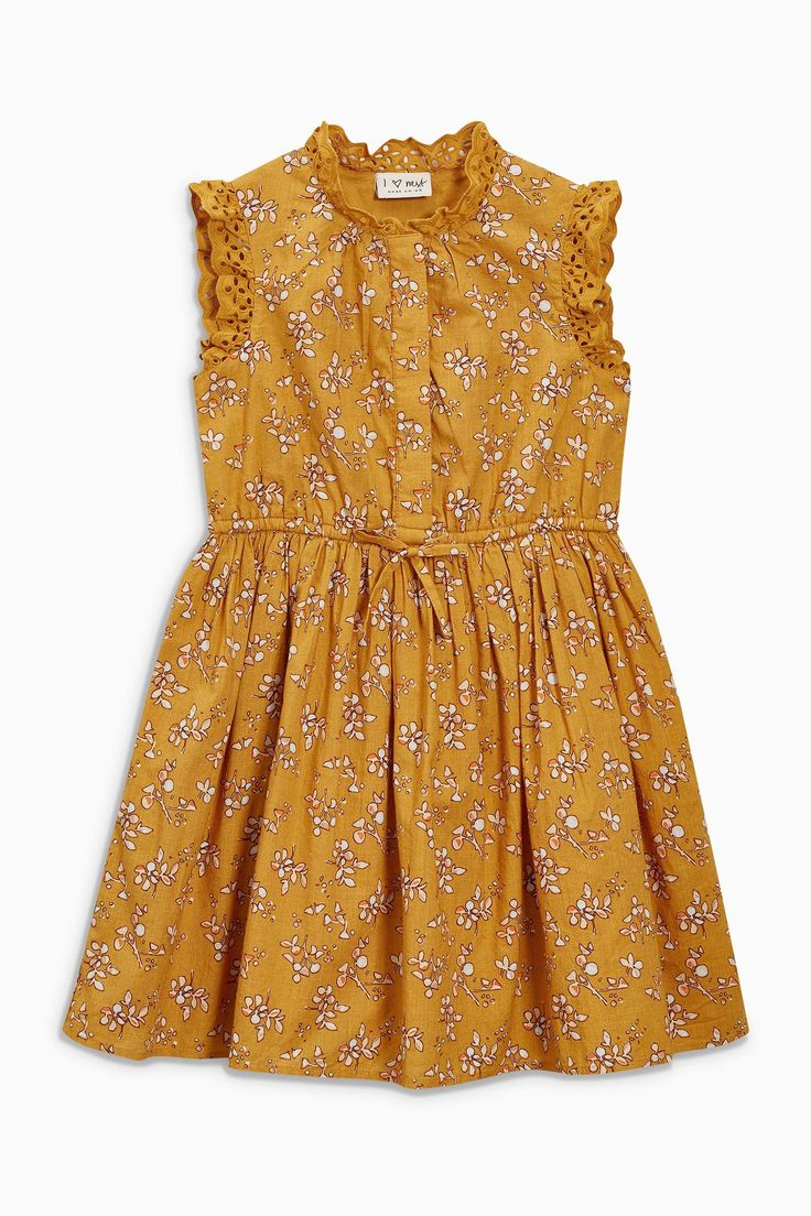 Buy Ochre Lace Shirt Dress (3-16yrs) from the Next UK online shop