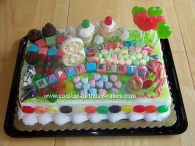 Homemade Candyland Cake Birthday Party Ideas For C Turning Six Pinterest Candyland 8th