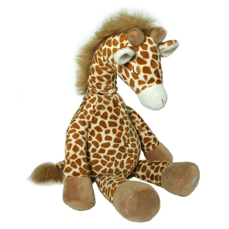 En sovebamse der kan afspille lyde. Den kan afspille hjertelyd, vandfald, safari og tromme. En sansebamse der kan sættes fast på tremmesengen.