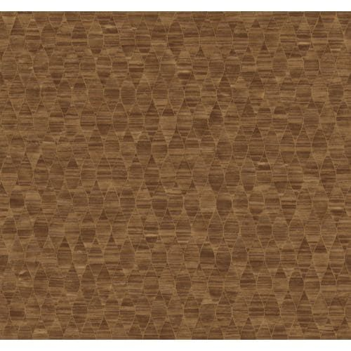 York Wallcoverings SS1386 Red Book Pearls Wallpaper - copper (Brown)