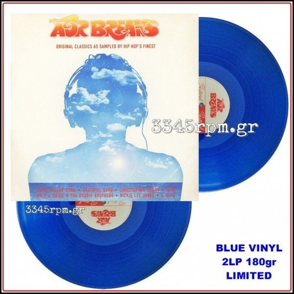 AOR Breaks - Original Classics… Colored Blue Vinyl 2LP 180gr
