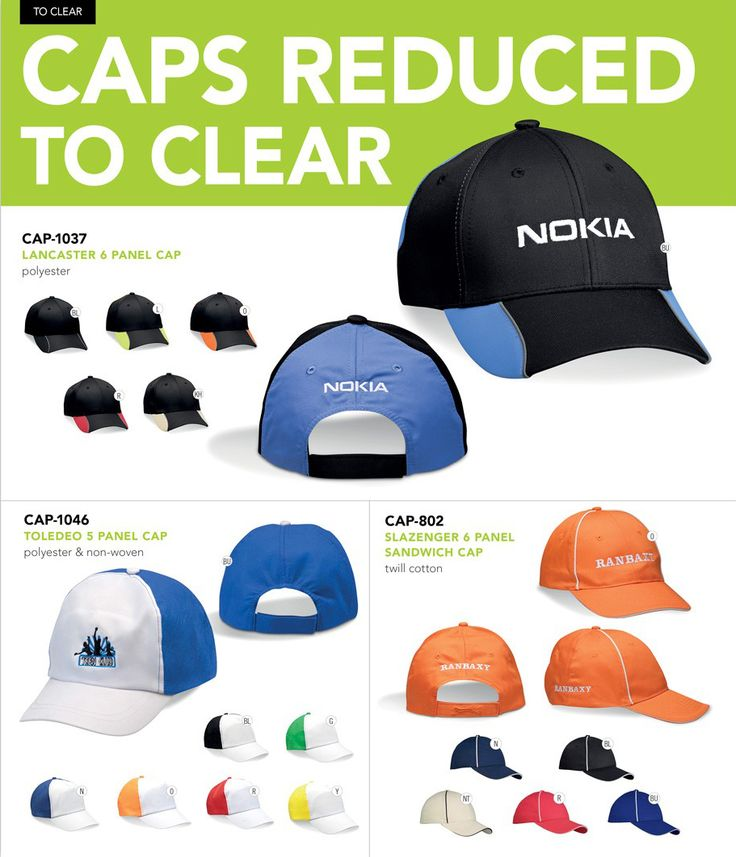 Caps Reduced to Clear