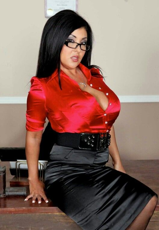 Amazing Big Boobs In Tight Blouses  Photo | Secretary | Pinterest | Office Attire And Boobs