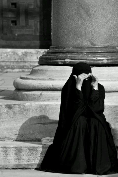 Niqabi.