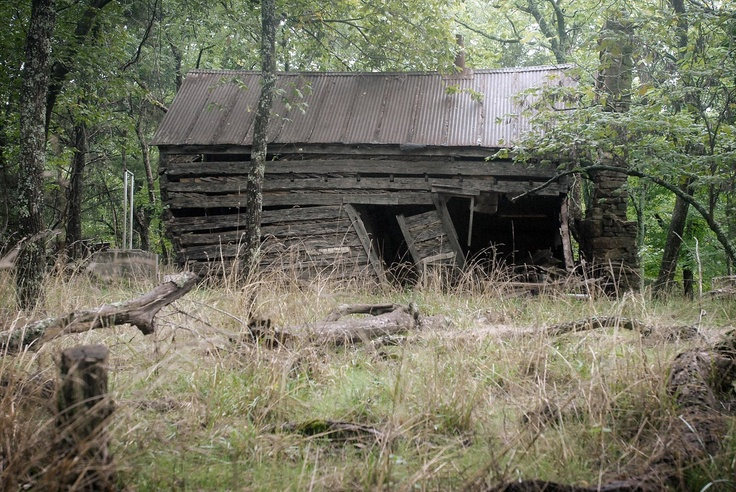 This company is making reclaimed furniture out of this old cabin that was built in 1896 in the Ozark Mountains.