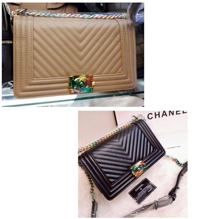 Tas Chanel Boy Cevro Semi Premium 7093 26x9x16 225rb