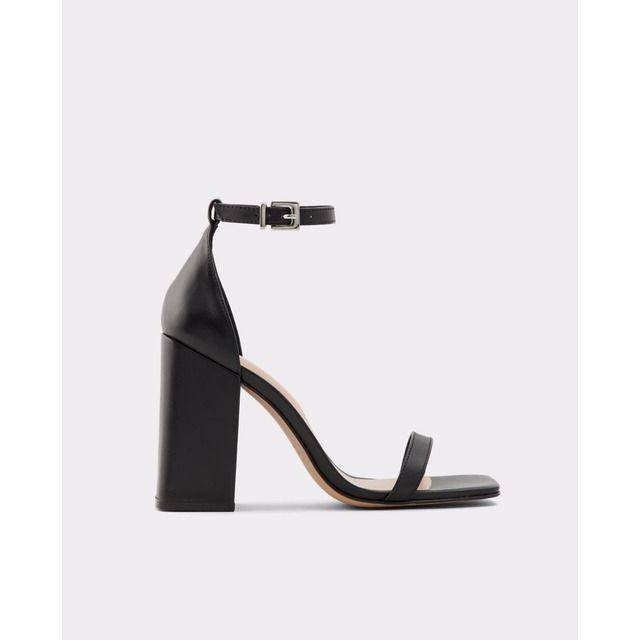 Botas de mujer Aldo en color negro con tacón de bloque