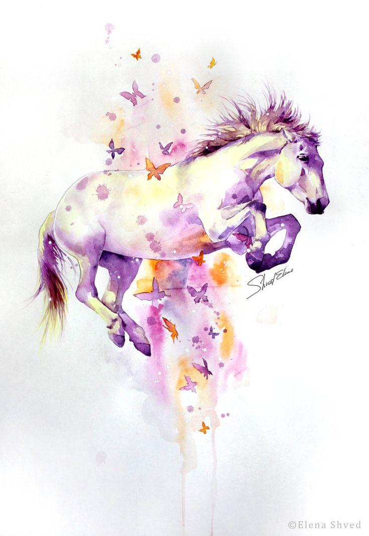22 flying horse by ElenaShved on deviantART