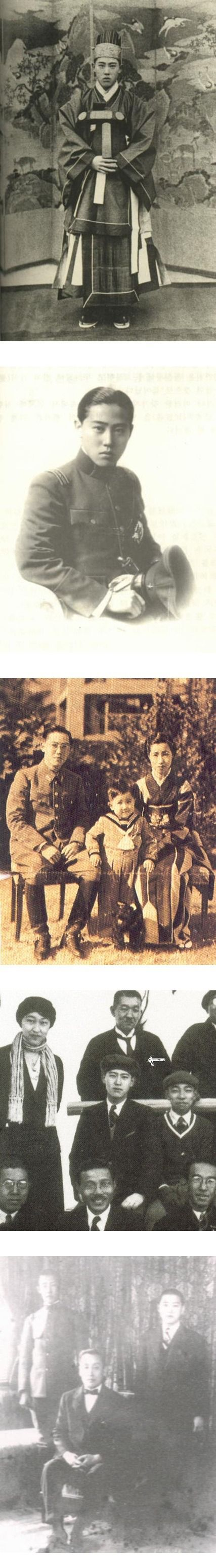 흥영군 이우  Colonel Yi Wu (15 November 1912 – 7 August 1945), was the 4th head of Unhyeon Palace, a member of the imperial family of Korea, and a Lieutenant Colonel in the Imperial Japanese Army during the Second World War.  He died in the atomic blast at Hiroshima on August 6, 1945 where he was serving as a Lieutenant Colonel in the Imperial Japanese Army.  He was buried  in Heungwon, Korea on 15 August 1945, the day WWII  ended.