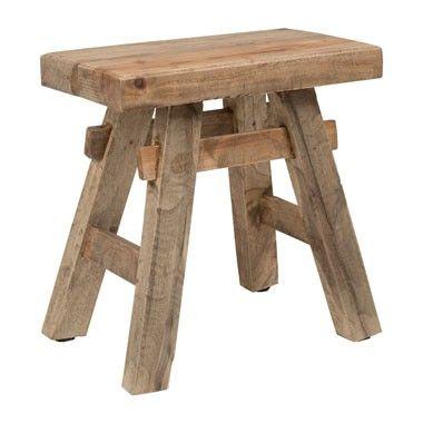 Krukje recycle - hout - 45x47x45 cm Xenos