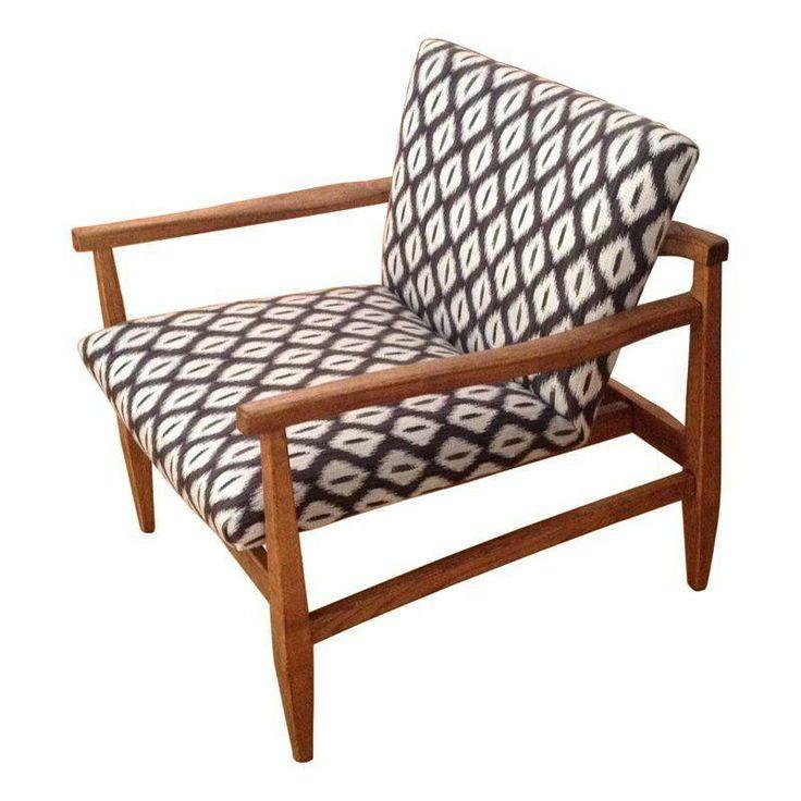 Original Mid-Century Danish Modern Lounge Chair - $1,400 Est. Retail - $1,300 on Chairish.com
