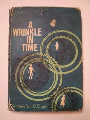 A Wrinkle In Time; by Madeleine L'Engle Pub. by Ariel/Farrar, Strauss & Cudahy; NY, 1962, 1st Ed. Good/Fair Book is 211 pages, hardcover with DJ, in good condition Tight copy of the book with spine s