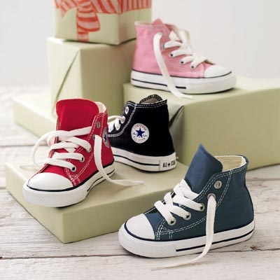 My kids will live in converse, flip flops and barefeet