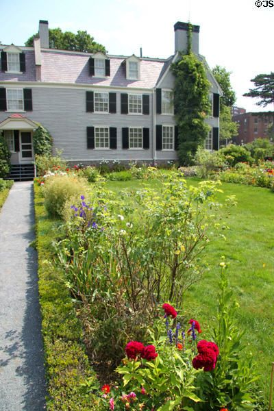 """""""Peacefield"""" was home to President John Adams and his wife Abigail from 1787 to 1826, then passed to President John Quincy Adams & wife Louisa Catherine Adams. The home stayed in the Adams' subsequent family until 1946."""