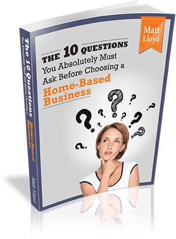 10-Questions Home-Based-Business