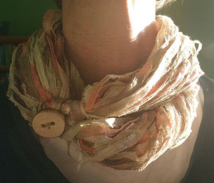 foulard con bottone