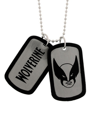 Wolverine Dog Tag Necklace