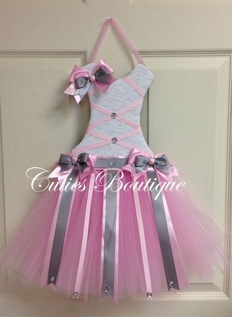 Hey, I found this really awesome Etsy listing at https://www.etsy.com/listing/222337171/tutu-dress-hair-bow-holder-baby-pink