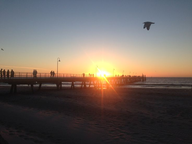 Sunset at the Glenelg Jetty