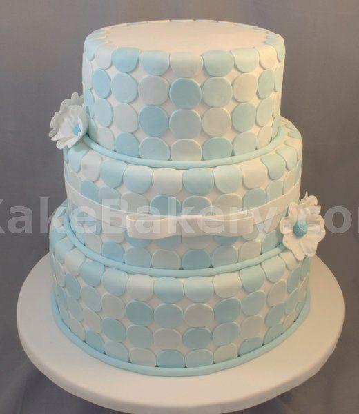 dotty for cake: Ashland Thegardens Cakes, Polka Dot Wedding, Cake Ideas, Anthony S Wedding, Wedding Cakes, Ca Yutie Cake, Cake Art, Clever Cakes, Blue Polka Dots