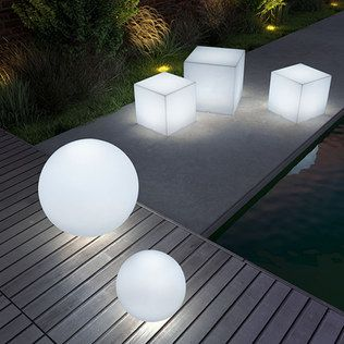 Zuo Outdoor Lighting Cubes And Spheres Gorgeous Want