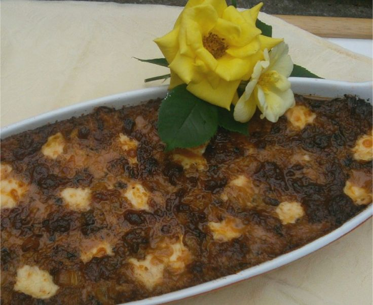 Cheesy Beef and Eggplant Casserole is a whole lot of delicious in one ...