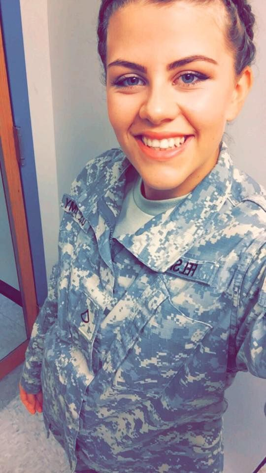 """I joined the Army National Guard as a junior in high school. Joining the Guard gave me the best adventure I've ever been on. I've met so many amazing people that made my experience unforgettable. It's the best decision I've ever made.""- Dayna Hartley"