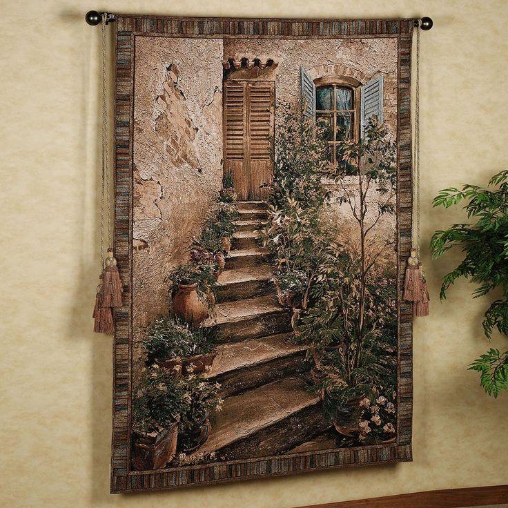 Tuscan Villa II Tapestry Wall Hanging