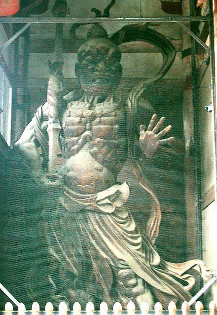 Nio guardians by Unkei in Nara - Nio - Wikipedia, the free encyclopedia