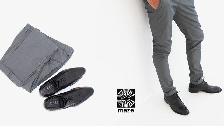 """Collezione """"maze"""" Scarpe Uomo Primavera/Estate 2015"""