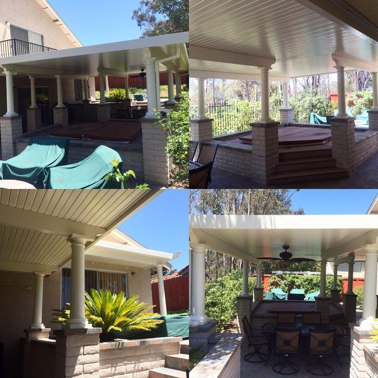 #diy Alumawood Patio Cover Kit Home Remodel By: PatioKitsDirect.com