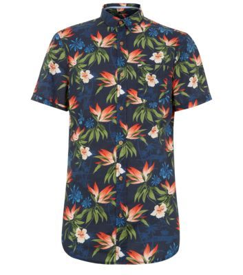 We love this tropical print shirt from New Look!