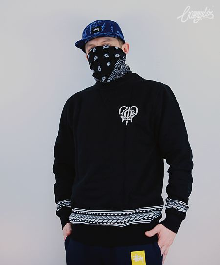 Bluza Crooks & Castles Warpath Crewneck
