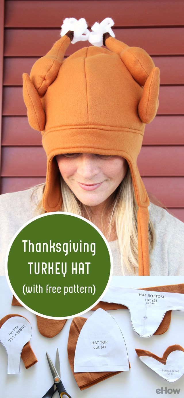 How to dress an apple shaped figure ehow - Diy Thanksgiving Turkey Hat With Free Pattern