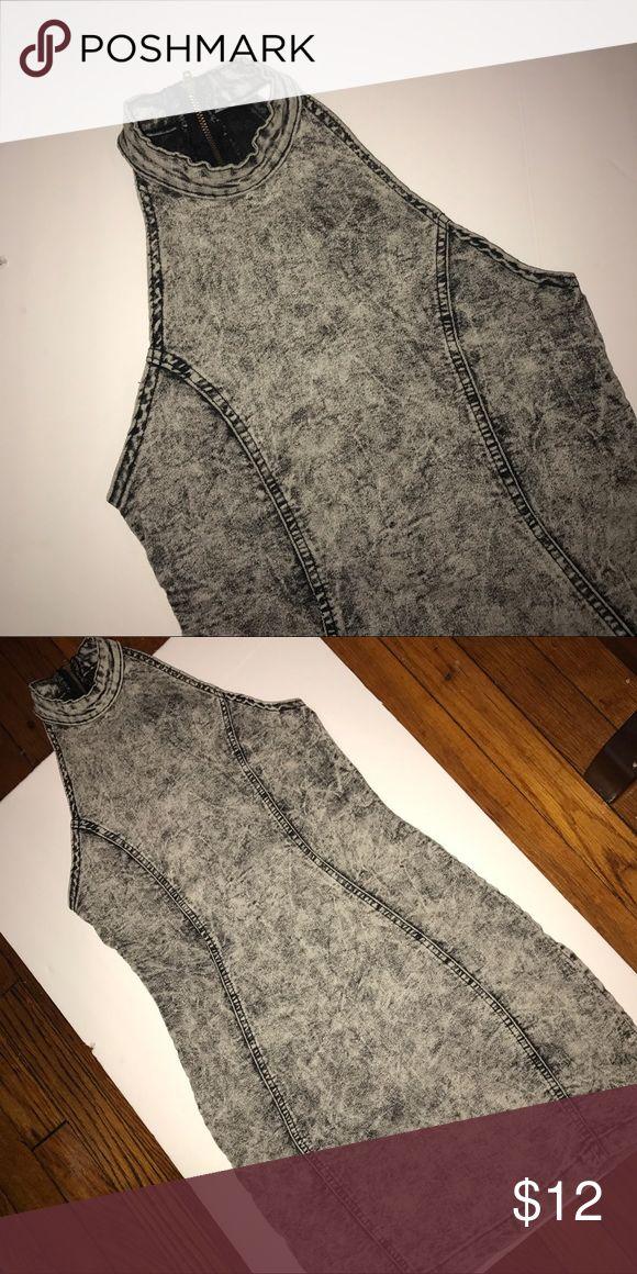 Denim Bodycon Dress Lightly worn still in good condition Dresses Mini