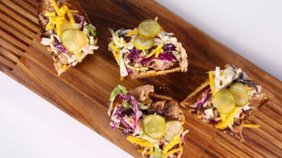 Clinton Kelly's Slow Cooker  Pork Picnic Sandwiches