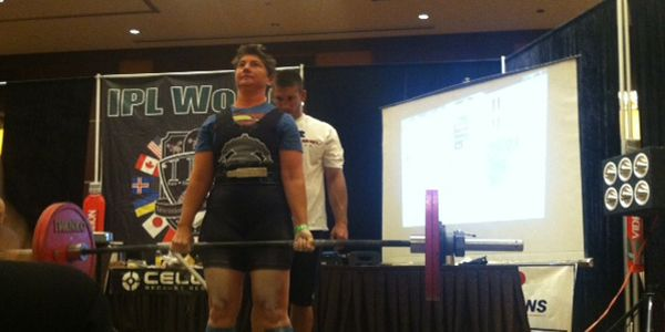 Slivovsky broke a U.S. women's record with a 292-lbs. deadlift, clearing...
