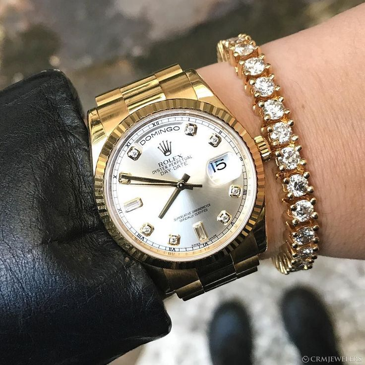 Rolex DayDate Yellow! Factory Diamond Dial Latest Version $19000 Call or Email to Purchase