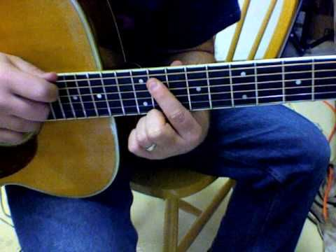how to play ramble on on guitar