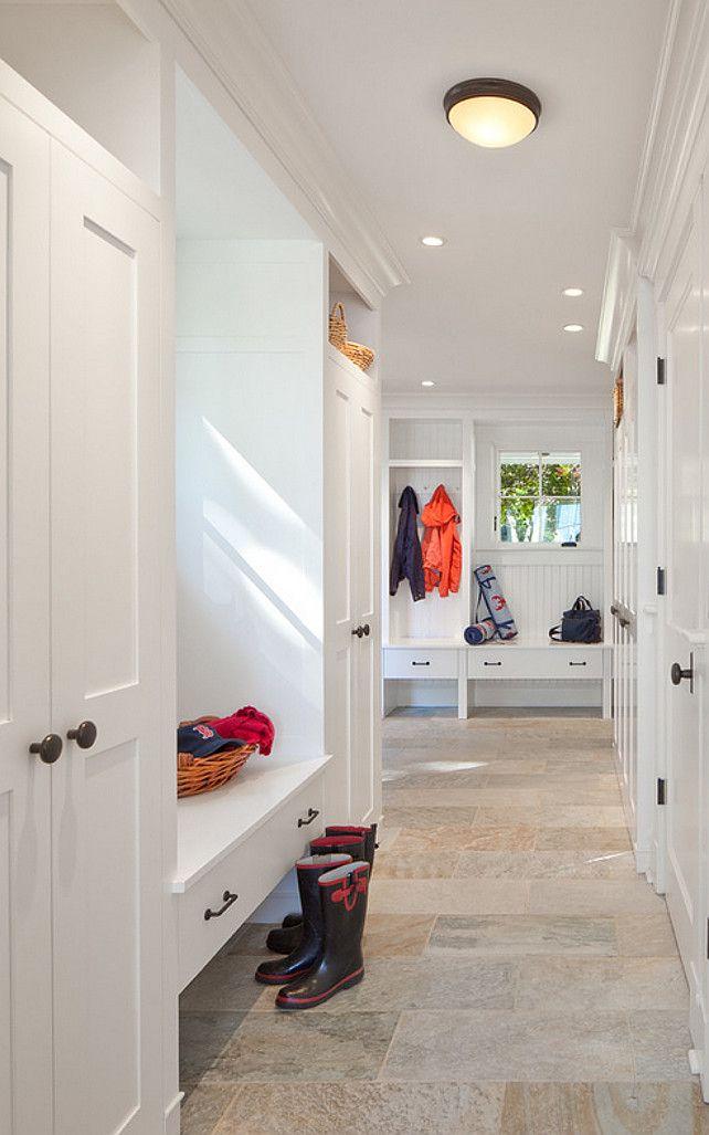 144 best mud room images on pinterest entrance hall for Mud room addition ideas
