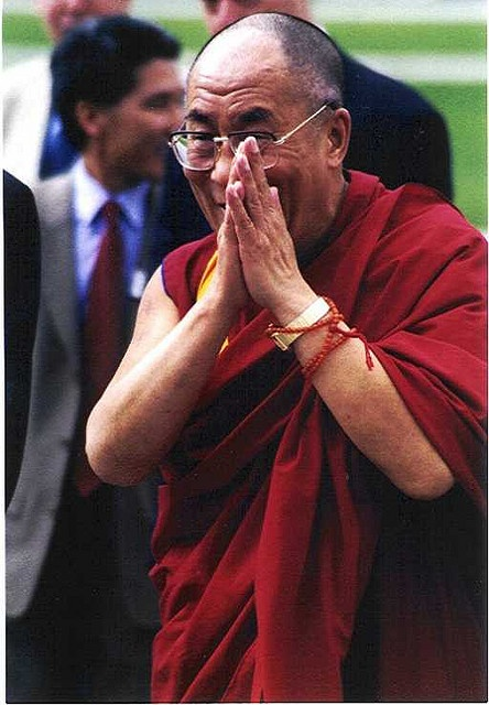 bucket list! meet the dalai lama.