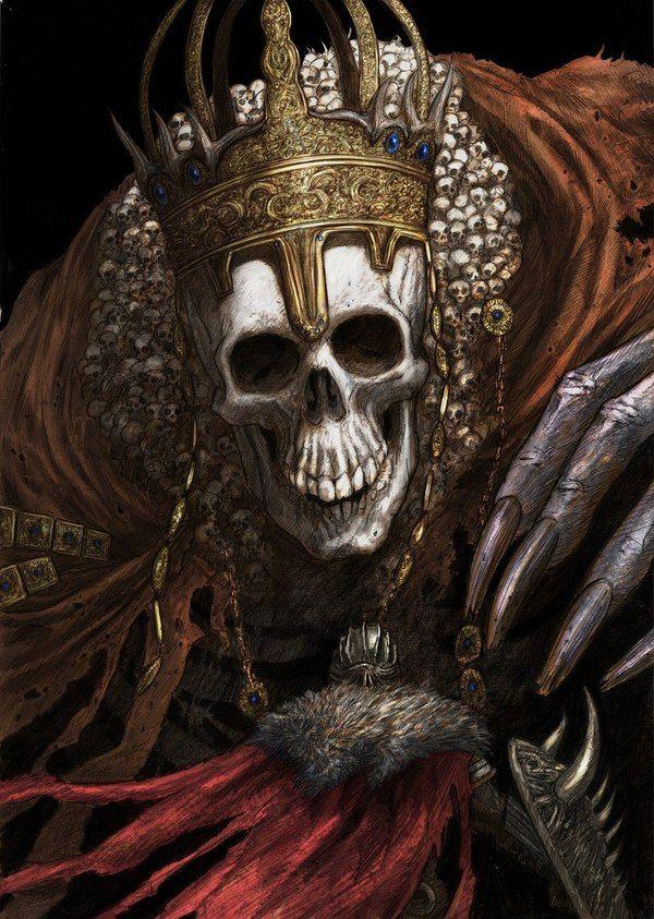 Верховный повелитель Вольнир | High Lord Wolnir Dark Souls 3, High Lord Wolnir, арт, фан-арт