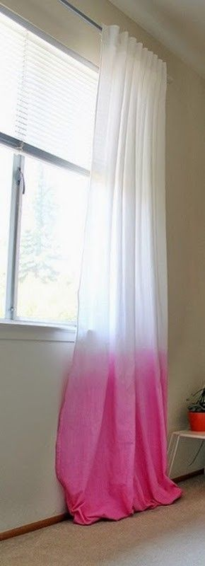 Rit Dip Dyed Curtains